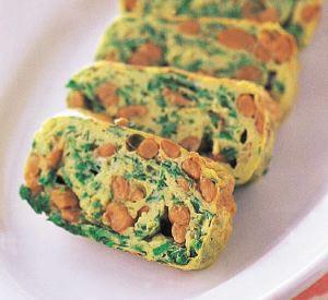 にら納豆卵焼きの完成イメージ