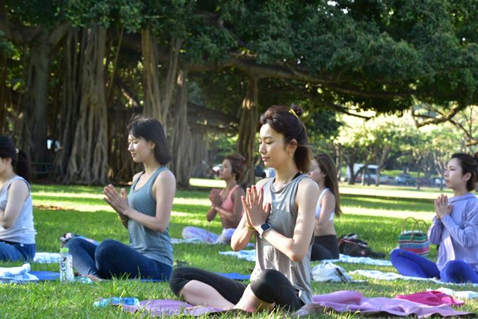 まずは瞑想
