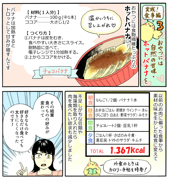 マキさんの食事法2