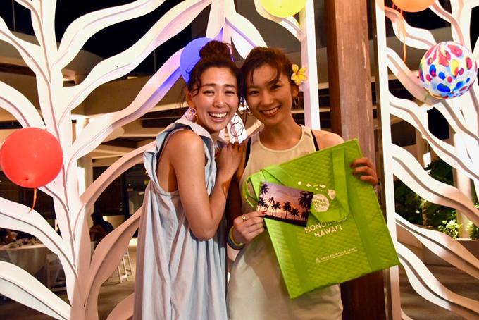 野沢さんとヤハラさんの2ショット