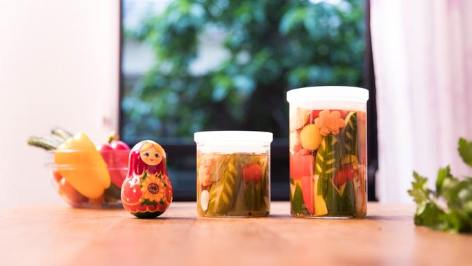 きゅうりやにんじんで作る、かわいいピクルス&酸味スープレシピ