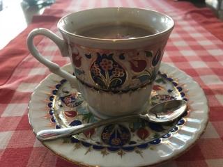 カフェの甘い飲み物