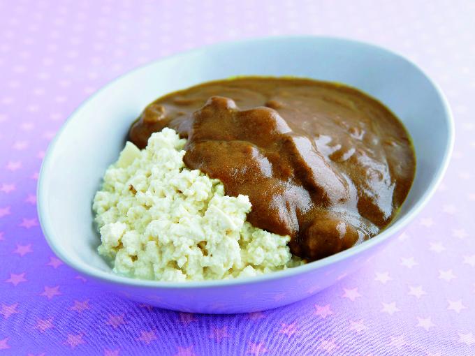 簡単ヘルシー豆腐カレー