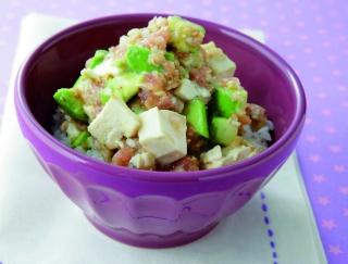 丼ものも豆腐を使ってヘルシーに!読者がやせた主食ごはん3選
