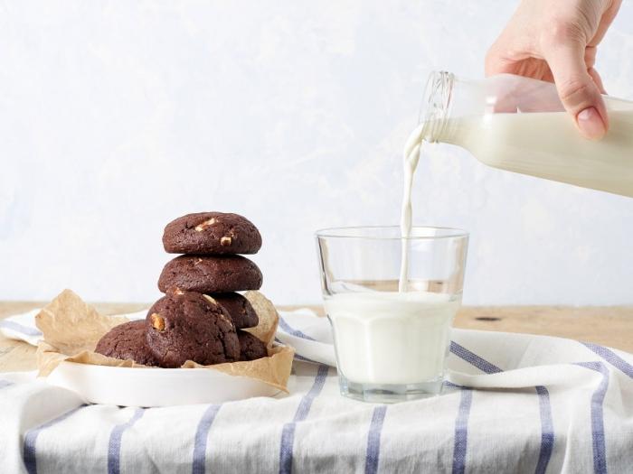おやつとミルク