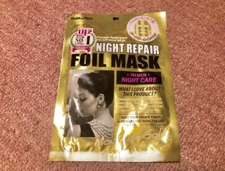 ゴールドのホイルマスクで肌湿度アップ!!うるうるが止まらない! #Omezaトーク