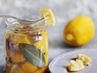 瓶詰めのレモン