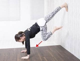 心拍数を上げてやせやすい体に!自宅でできる「壁腕立て」【動画】
