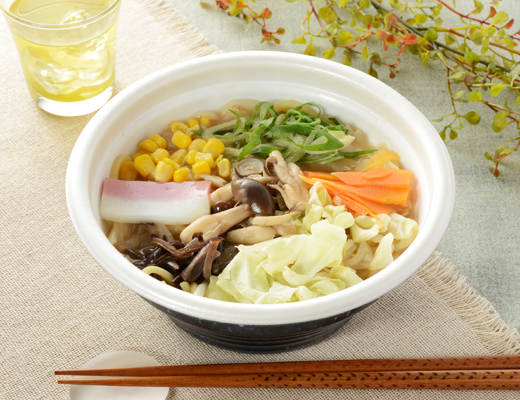 公式サイトで掲載された「1食分の野菜ときのこのちゃんぽん」の画像