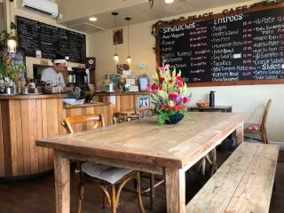 Peace Caféの店内