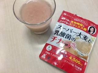 スーパー大麦と乳酸菌のチカラとそれでつくったドリンク