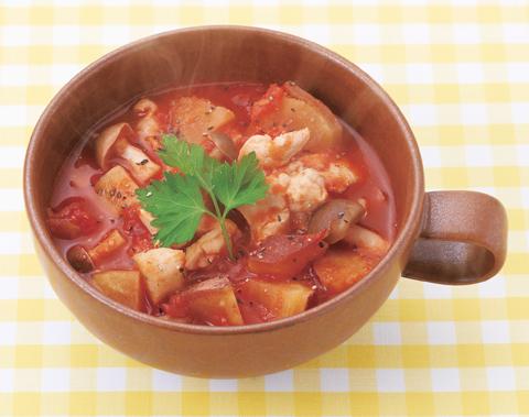 根菜のラタトゥイユの完成イメージ