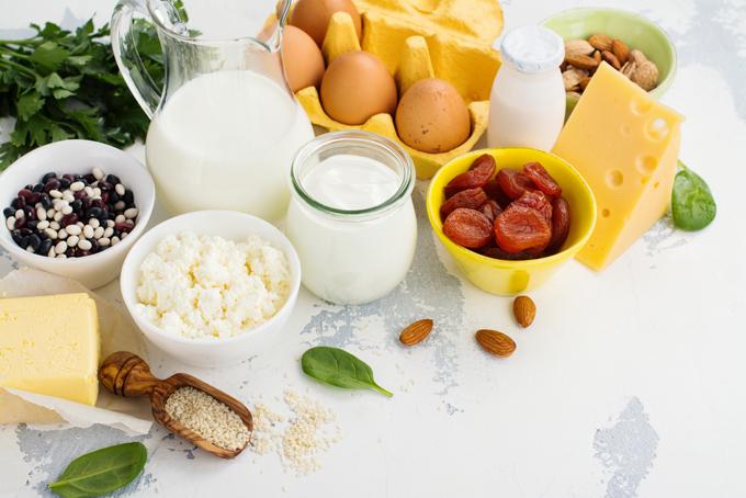 栄養豊富な食材の画像