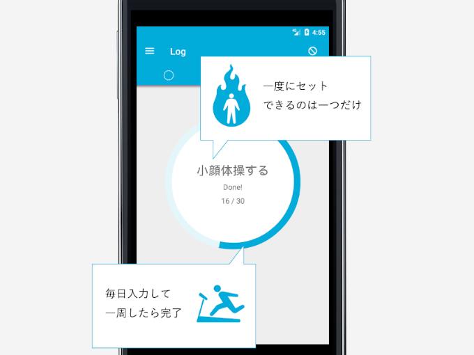 アプリの各機能をイラストで説明している画像