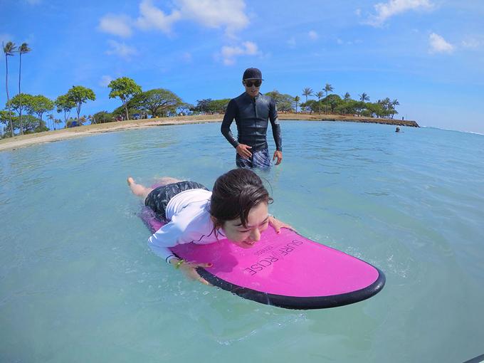 憧れのハワイでサーフィンを使ったエクササイズ!