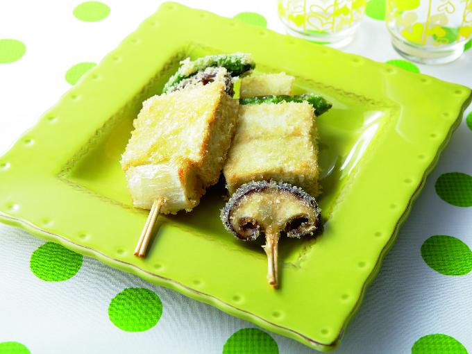豆腐串カツ