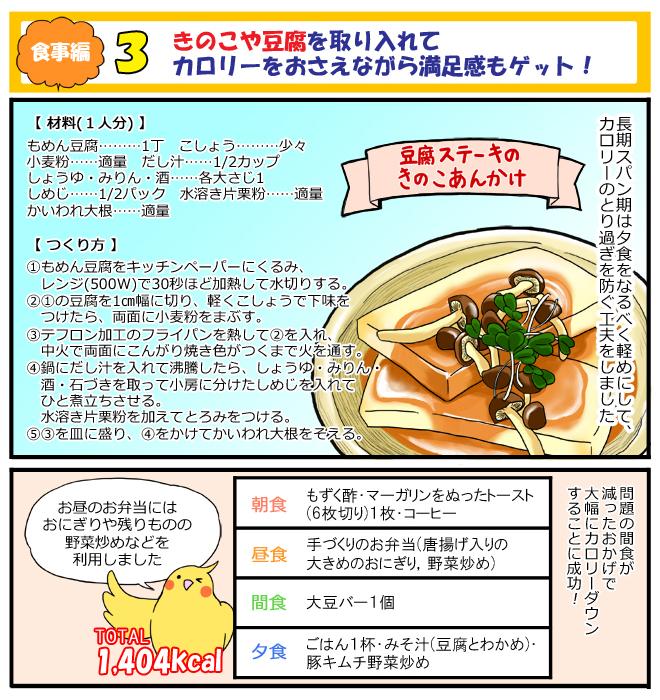 リエさんの食事法1