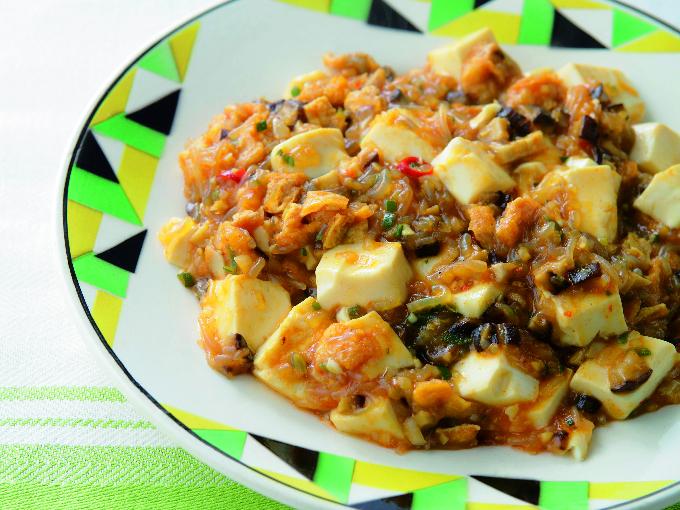 ベジマーボー豆腐