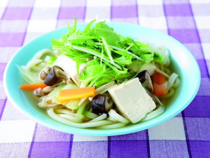 豆腐野菜うどん
