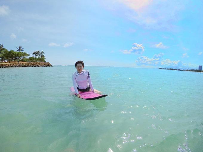 ハワイに行ったらサーファサイズ体験してみてください!!