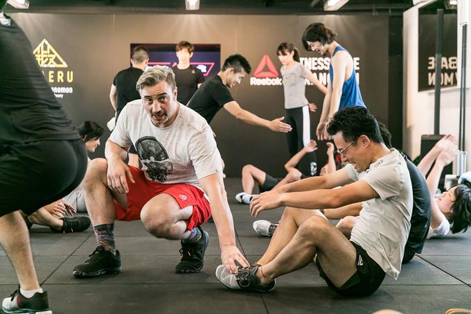 室内でもハードなトレーニング