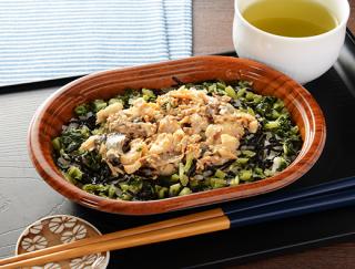 価格とボリュームに満足!魚の脂が苦手な人にもおすすめ「長崎県産あじのほぐし飯ゆずポン仕立て」