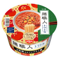 「日清麺職人 トマト味」日清食品提供