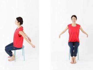 イスに座って腕をふるだけ!中国の健康法「腕ふり」で肩こり解消
