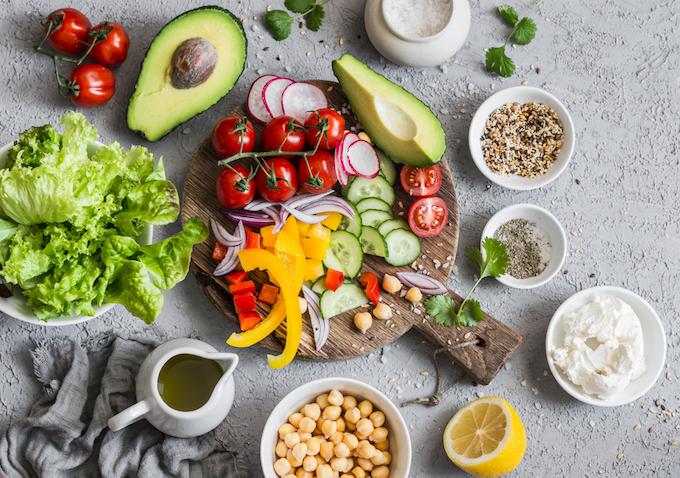 健康素材を意識した野菜