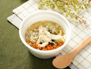 食物繊維たっぷりで腹持ちバツグン!ダイエットにうってつけの「生姜入りもち麦のスープ」がローソンから登場