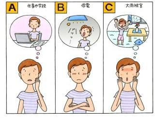 【心理テスト】台風が来ました!あなたがいちばん気になることは?
