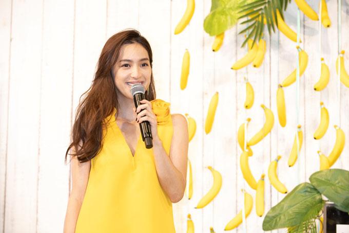 朝バナナ生活について語る中村アンさん