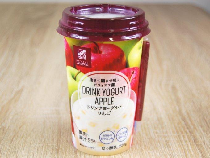 パッケージされた「ドリンクヨーグルト りんご」の画像