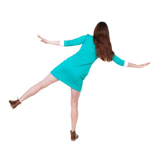足のバランスをセルフチェックする方法