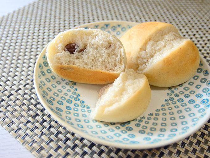 スーパー大麦粉入りレーズンパン