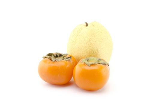 柿と梨の画像
