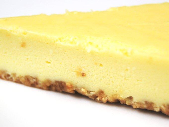 「ベイクドチーズケーキ」のアップ画像