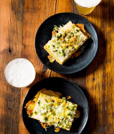 厚揚げしらすチーズ