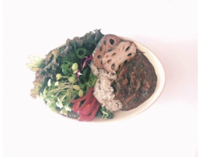 野菜もりもりのヘルシーカレー