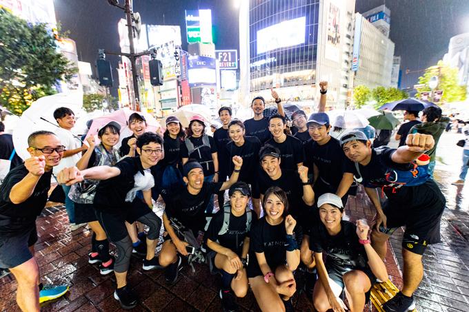 渋谷のスクランブル交差点!