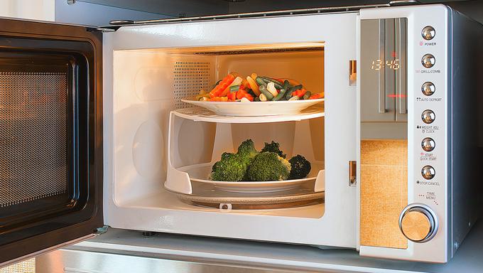 レンジで野菜を調理