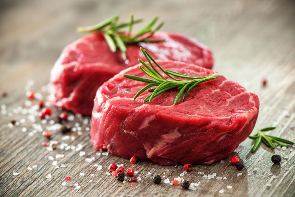 生の赤身肉