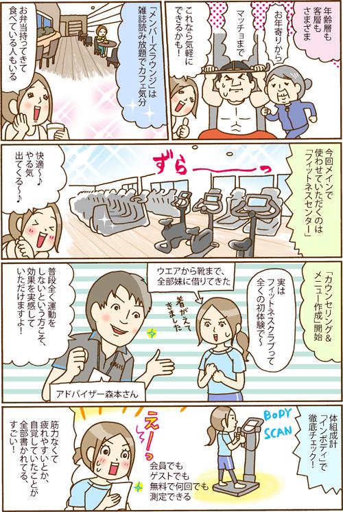マンガ2P目