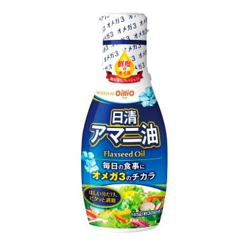 日清アマニ油/950円