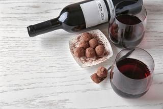 赤ワインとチョコレート