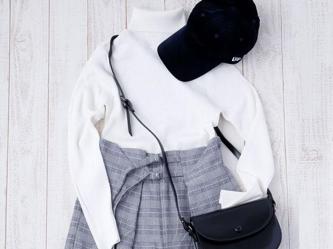 モノトーンファッション