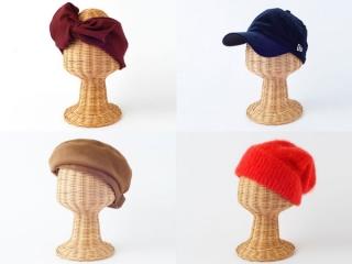 秋におすすめの帽子