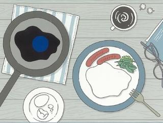 「青い目玉焼きをじっと見ると…」スマホ労眼を防ぐ眼トレ3つ