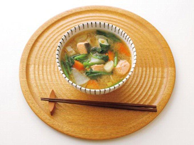 和食の夕食の食事例