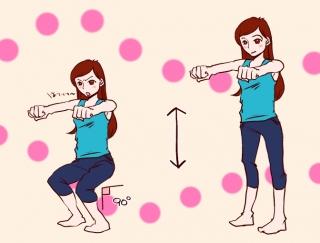 【漫画レポート】-12.0kgやせを実現!食べてもやせる体をつくる簡単エクサ